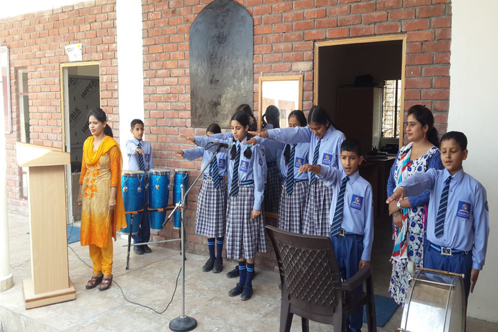 Diamond International Public School-Oath Ceremony