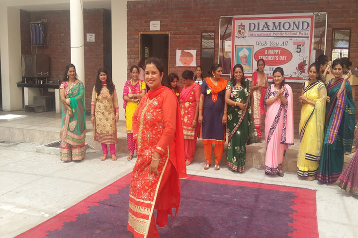 Diamond International Public School-Teachers Day Celebration