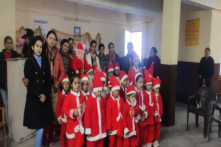 Chamba Millennium Public School-Christmas Celebration