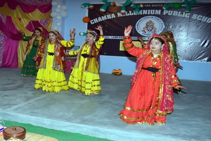 Chamba Millennium Public School-Cultural Event
