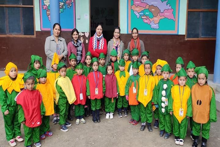 Chamba Millennium Public School-Green Day
