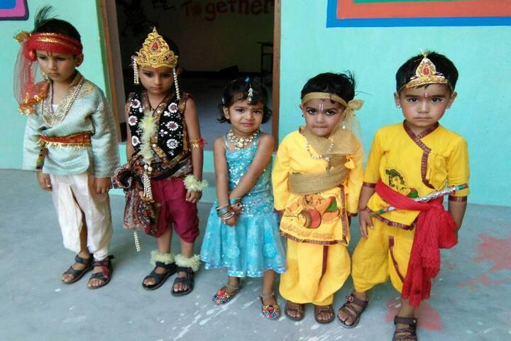 Chamba Millennium Public School-Janmastami Celebration