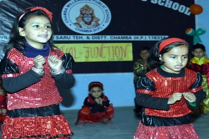 Chamba Millennium Public School-Kids Dance