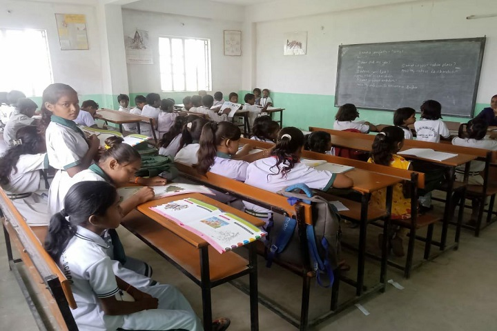 New Delhi Public School-Class Room