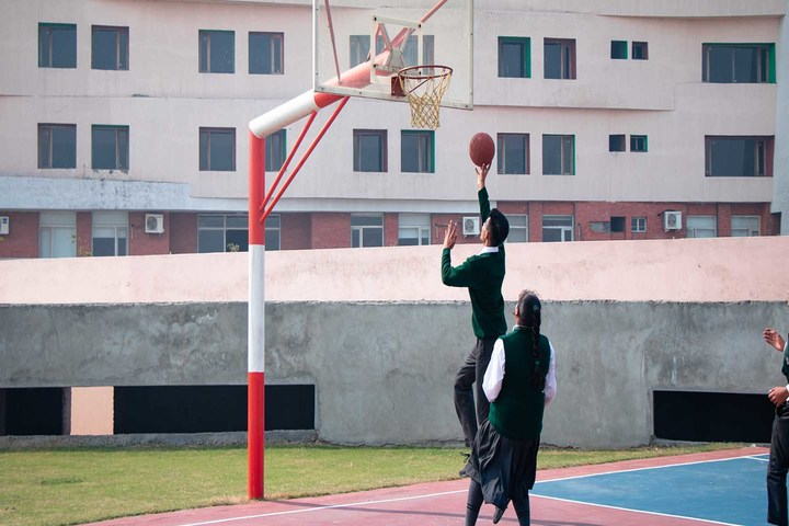 Delhi Public World School-Basket Ball Court