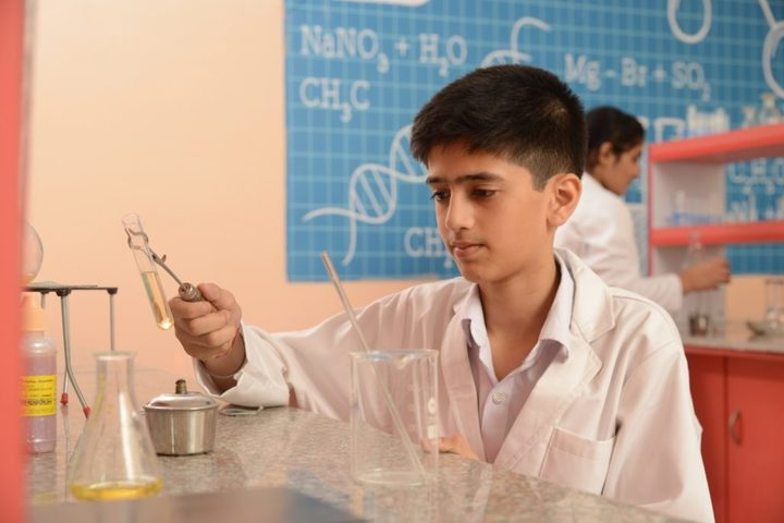 Delhi Public World School-Chemistry Lab