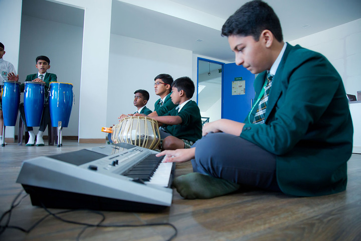 Delhi Public World School-Music Room