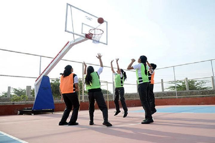 Delhi Public World School-Basket Ball Team