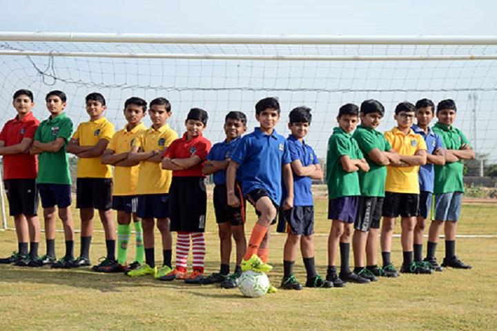 Delhi Public World School-Foot Ball Team