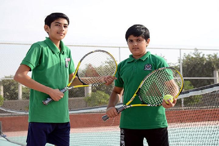 Delhi Public World School-Lawn Tennis