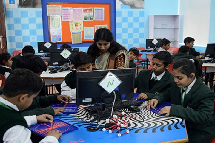 Delhi Public World School-Maths Lab