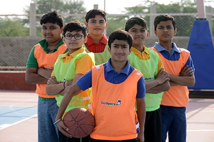 Delhi Public World School-Volley Ball