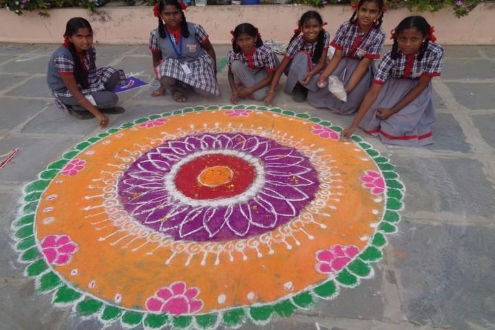 Kendriya Vidyalaya - Rangoli Competition
