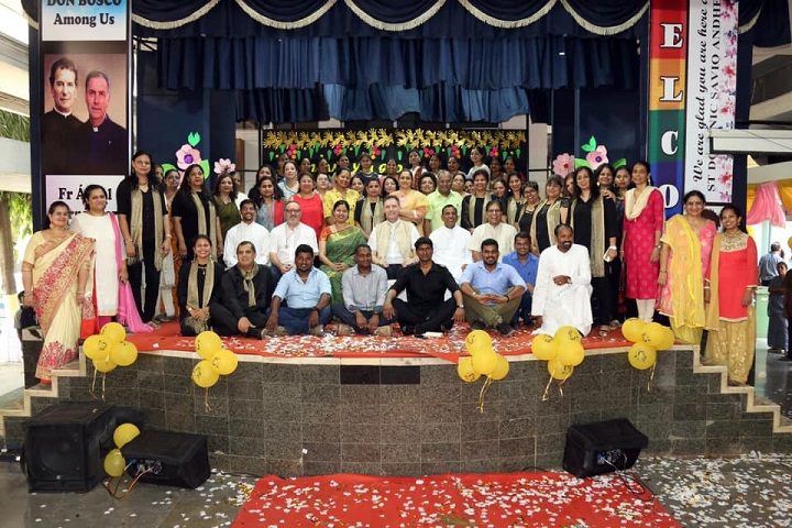 St Dominic Savio High School-Staff Group Photo