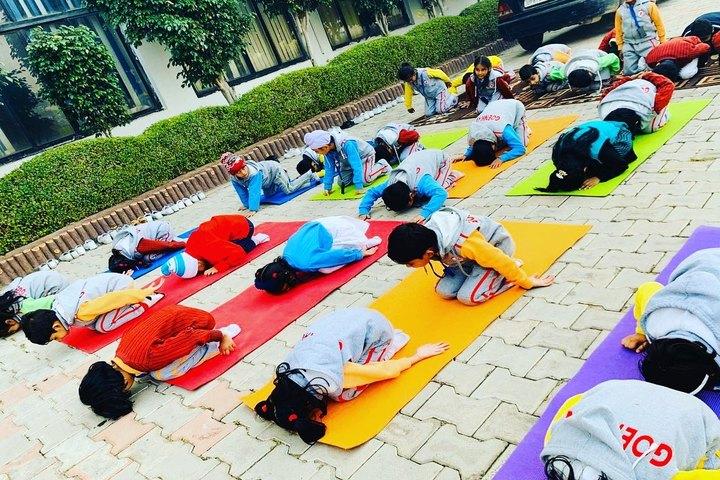 GD Goenka Public School-Yoga