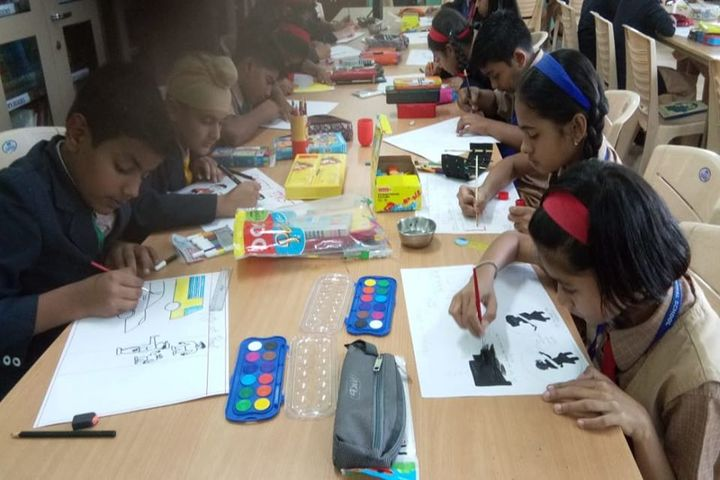 Ryan International School-Painting