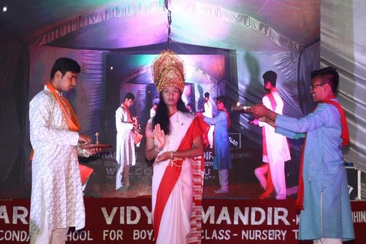 Maharishi Vidya Mandir-Skit
