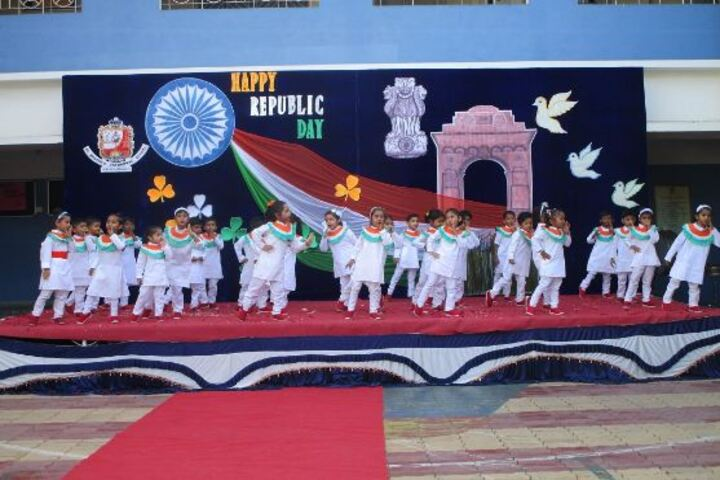 St Xaviers Cathedral School-Republic Day