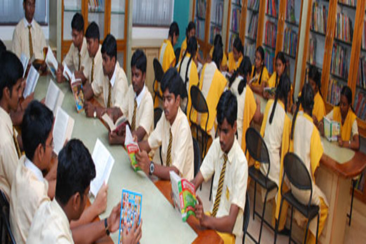 Chellamal Mullai Higher Secondary School-Library