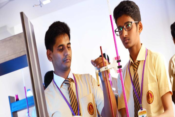 Chellammal Matric Higher Secondary School-Chemistry Lab