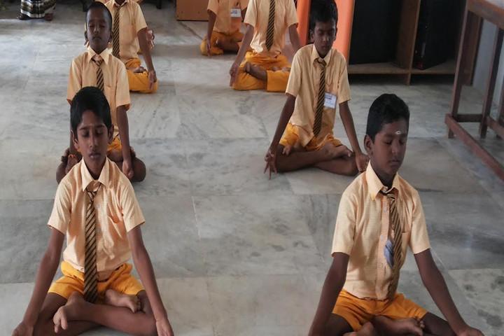 Chellammal Matric Higher Secondary School-Yoga