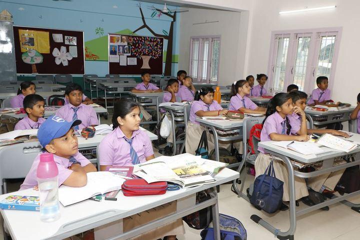Sri Ramakrishna Central School-Classroom