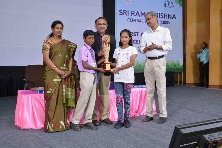 Sri Ramakrishna Central School-Prize Distribution