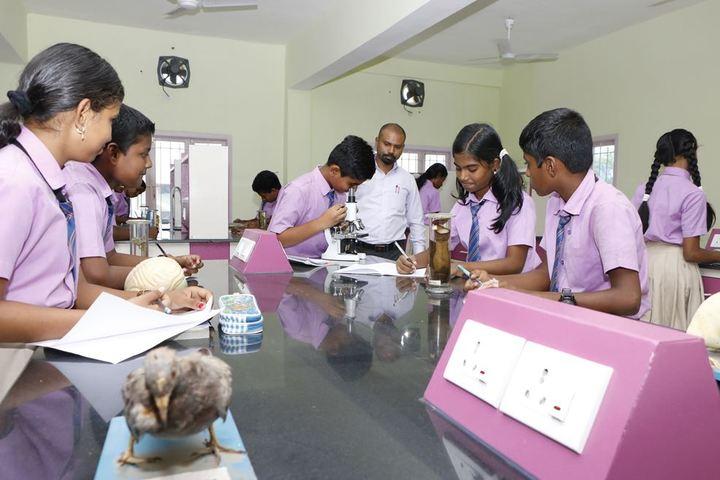 Sri Ramakrishna Central School-Science Lab