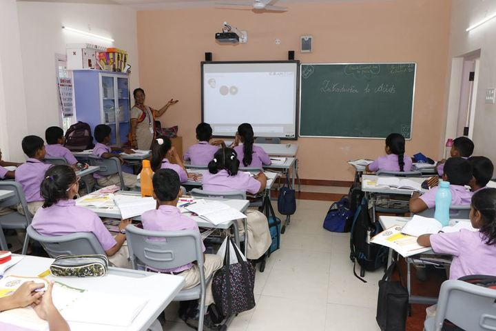 Sri Ramakrishna Central School-Smart Classroom