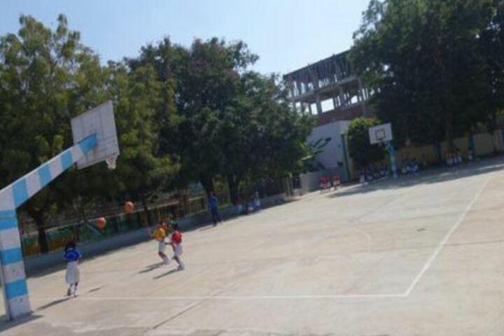 Montfort School-Basket Ball Court