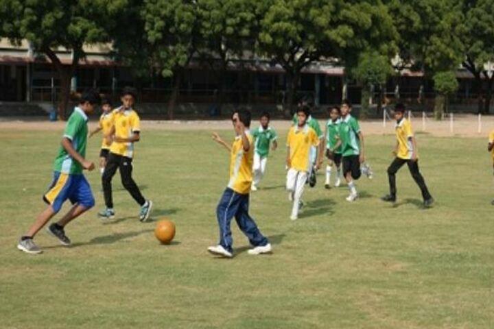 Montfort School-Foot Ball Court
