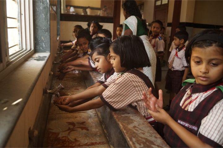 Montfort School-Hand Washing Day