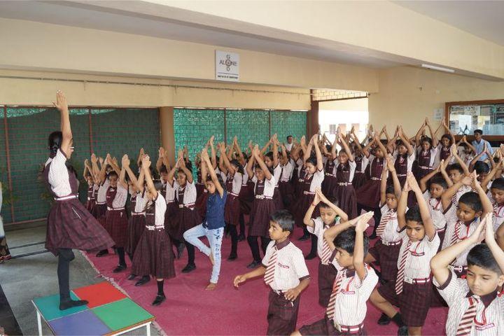 Montfort School-International Yoga Day