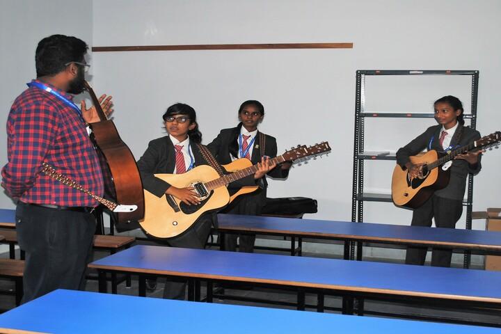 Wisdom Montfort International School-Music Room
