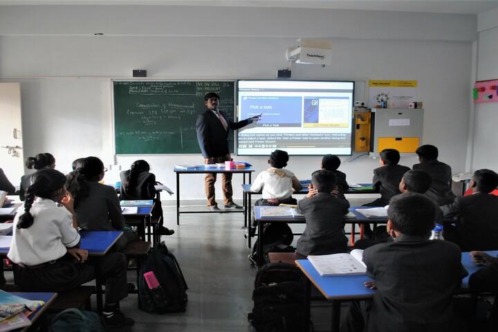 Wisdom Montfort International School-Smart Classroom