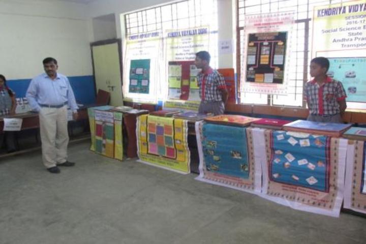 Kendriya Vidyalaya Dongargarh-Science Exhibition