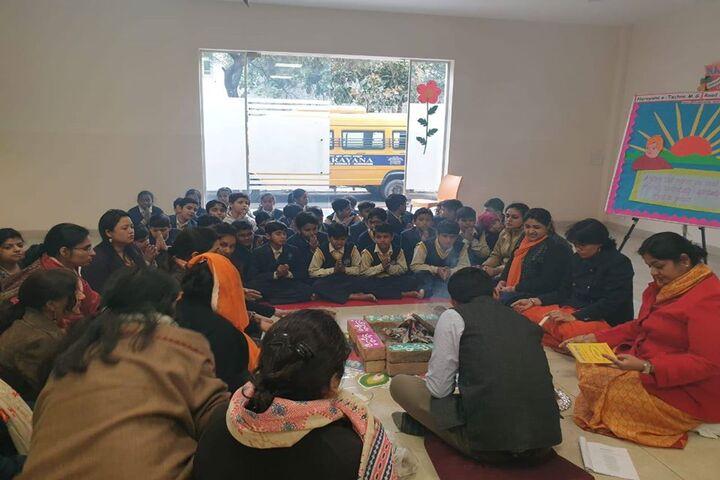 Narayana e Techno School-Pooja
