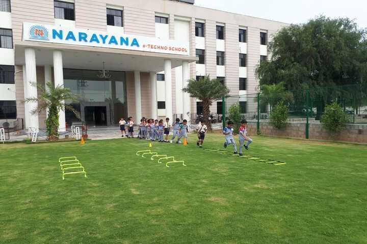 Narayana e Techno School-School Building