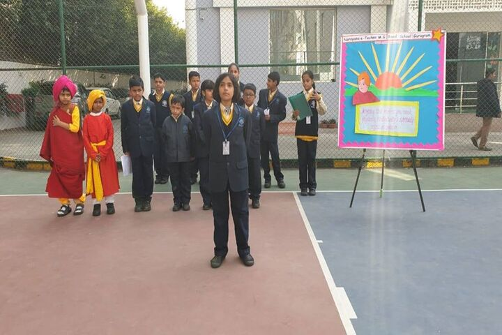Narayana e Techno School-Speech