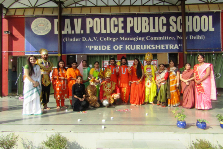 DAV Police Public School-Drama
