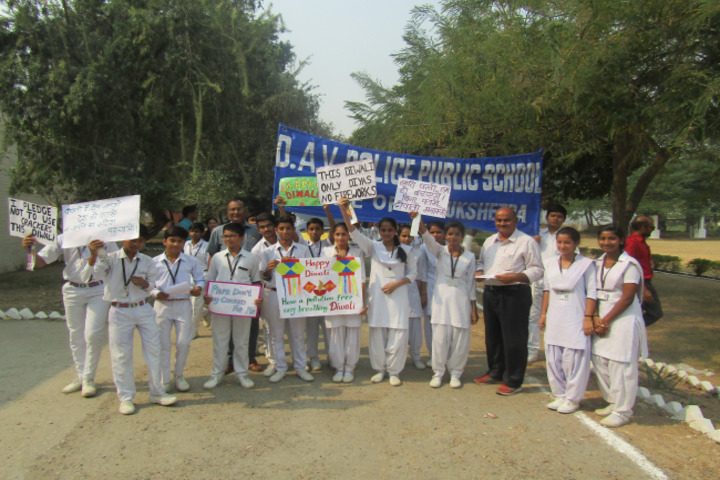DAV Police Public School-Rally