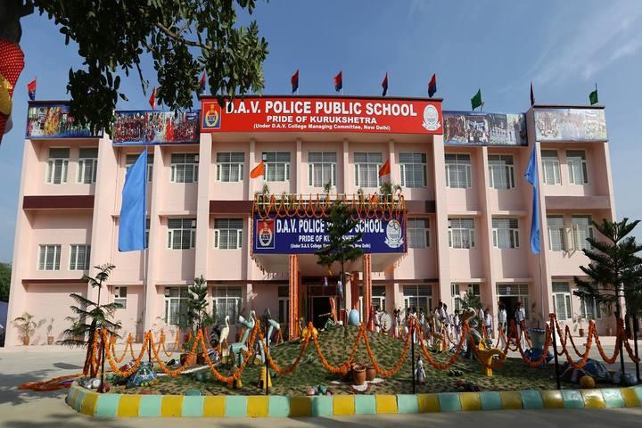 DAV Police Public School-School Building