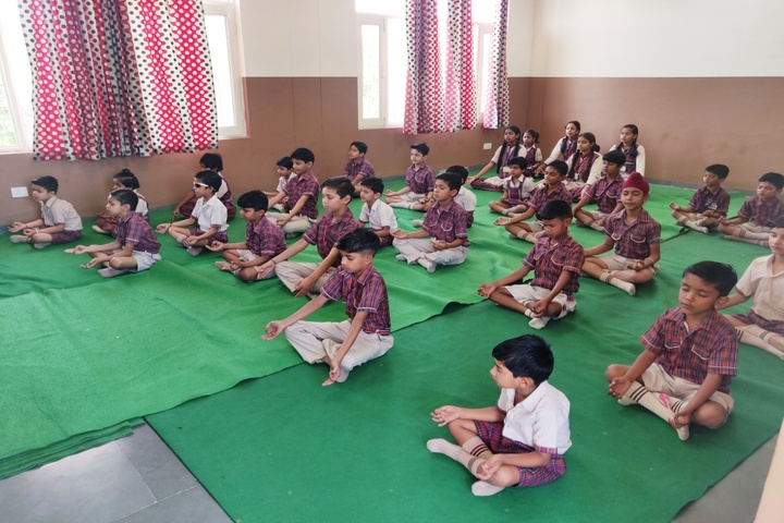 DAV Police Public School-Yoga Room