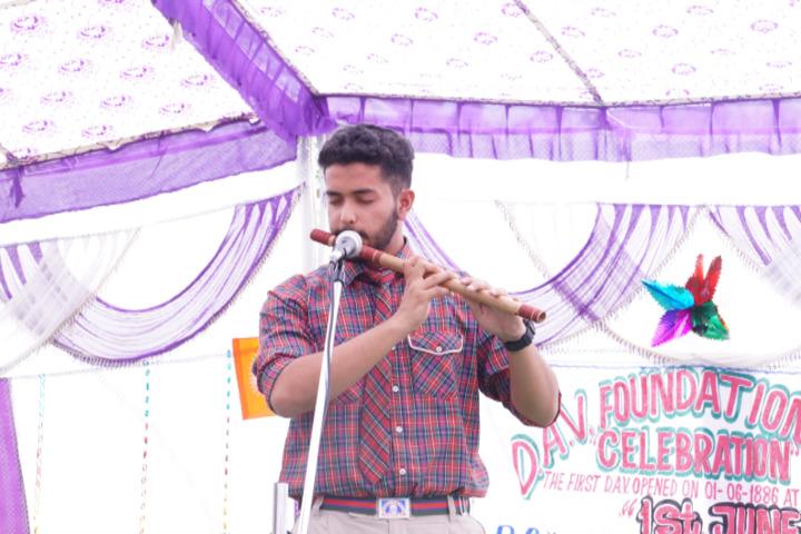 DAV Senior Secondary Public School-Flute Event