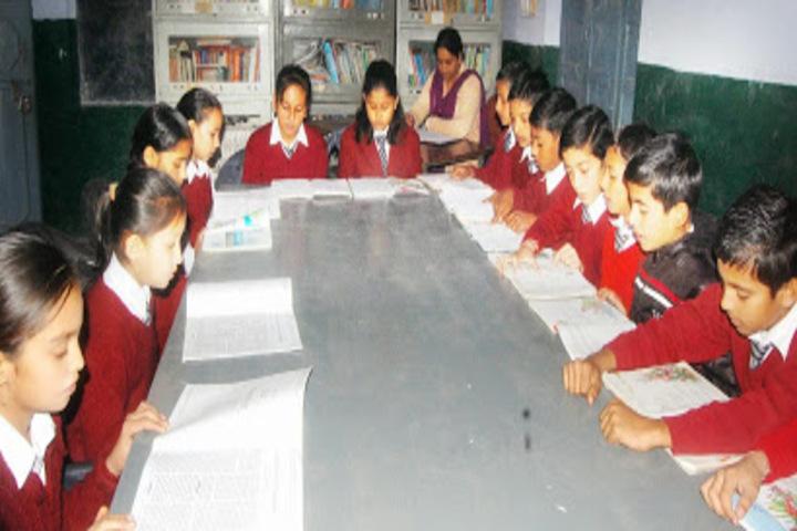 DAV Senior Secondary Public School-Reading Room