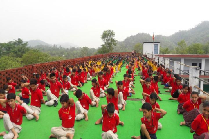 DAV Senior Secondary Public School-Yoga