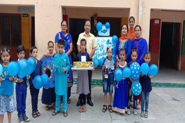 Lala Jagat Narain DAV Public School-Blue Day Celebration