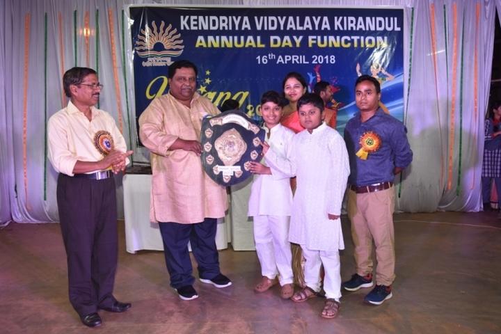 Kendriya Vidyalaya Kirandul-Annual day