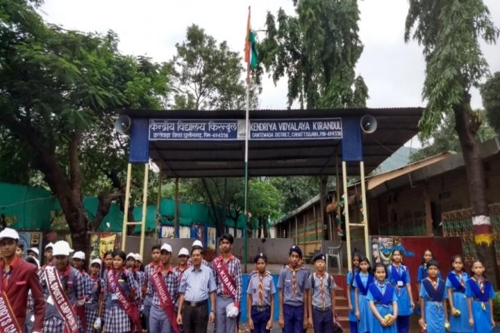 Kendriya Vidyalaya Kirandul-Independence day