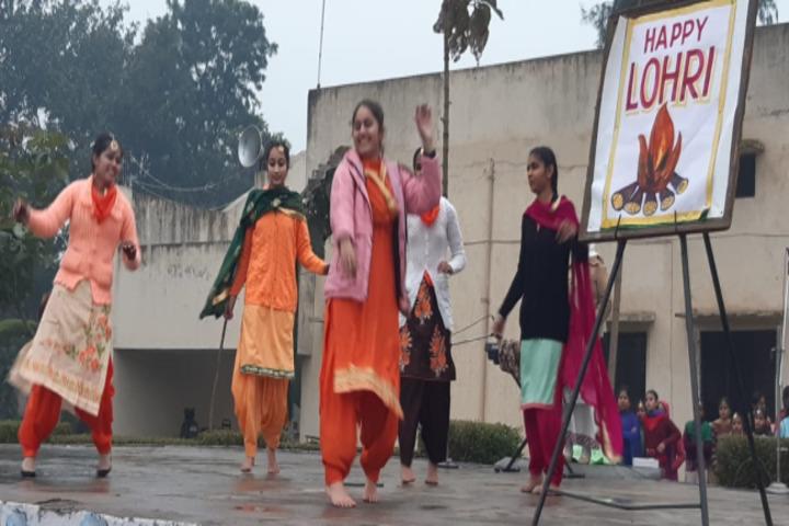 BBD DAV Public Senior Secondary School-Festival Celebration